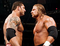 Batista and Triple H - batista photo