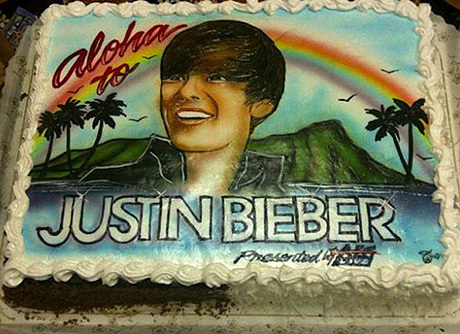 Birthday Cake With Justin