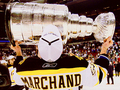Brad Marchand and the Stanley Cup - 2011 - boston-bruins fan art