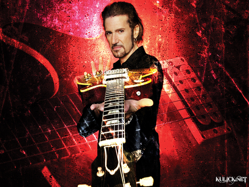 baciare Guitarists wallpaper containing a guitarist and a concerto entitled Bruce Kulick