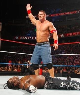 Capitol Punishment Cena vs R-Truth