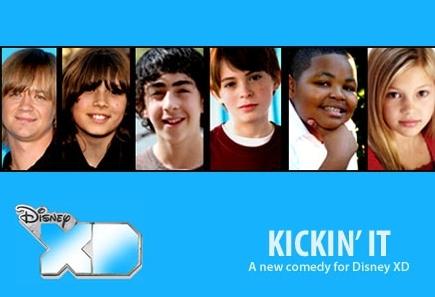 Kickin' It wallpaper entitled Cast  of  Kickin' It