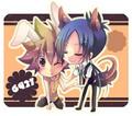 Chibi Tsuna & Mukuro