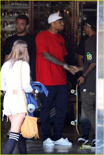 Chris Brown: Fight Club Shoe Shopping