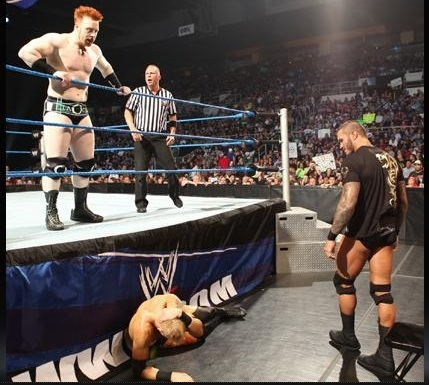 Christian vs Sheamus on Smackdown