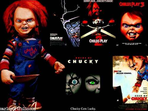 Horror legends 壁纸 probably with 日本动漫 called Chucky
