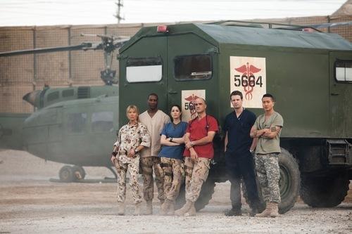 Combat Hospital Cast