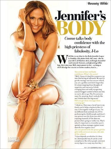 Cosmopolitan UK May 2011