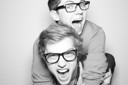 Damian and Cameron are SO CUTE!! - the-glee-project Photo