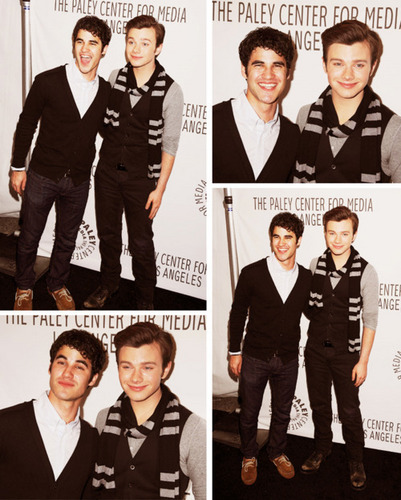 Damien (Darren Criss) and Jack (Chris Colfer)