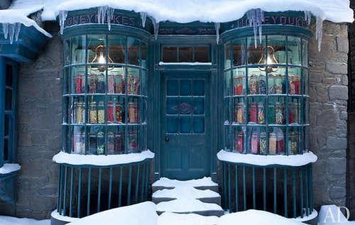 Deathly Hallows Part 2 boathouse set các bức ảnh