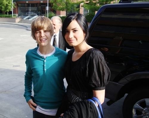 Demi and JB