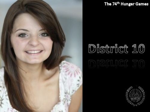 District 10 Tribute Girl