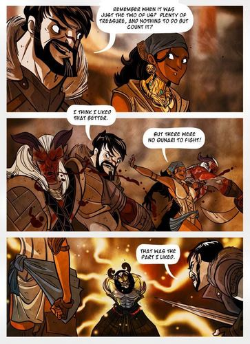 Dragon Age 2 comics