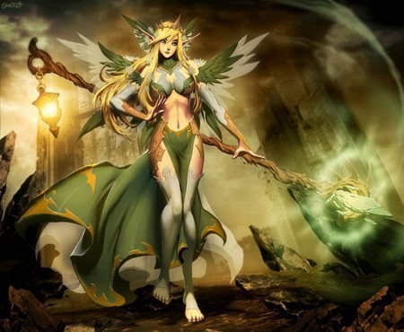 Fantasy wallpaper entitled Elf