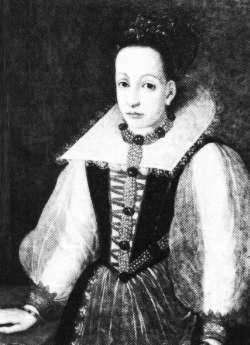 Elizabeth Bathory wallpaper possibly with a kirtle and a polonaise titled Elisabeth Báthory