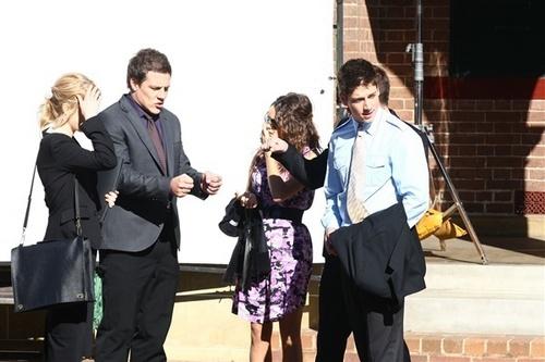 Filming nyumbani & Away - June 7th, 2011