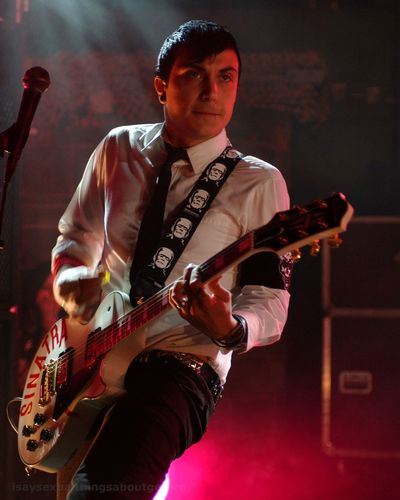 Frank Iero wallpaper containing a guitarist and a concert titled Frank HQs
