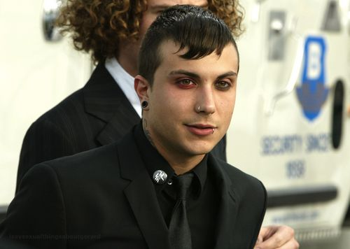 Frank Iero wallpaper containing a business suit entitled Frank HQs