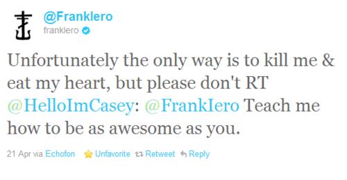 Frank's Tweets