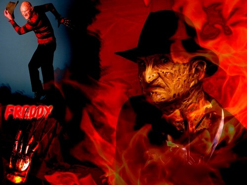 Horror legends wallpaper probably containing a sudip, spatula and anime called Freddy Krueger