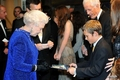 Georgie meet HRH The Queen