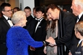 Georgie meet HRH The Queen - georgie-henley photo