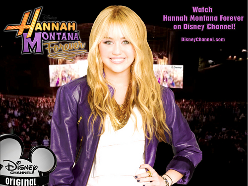Hannah Montana Season 4 Exclusif Highly Retouched Quality پیپر وال 6 سے طرف کی dj(DaVe)...!!!