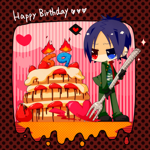 Mukuro Rokudo wallpaper probably containing anime called Happy birthday_Mukuro Rokudo!!!