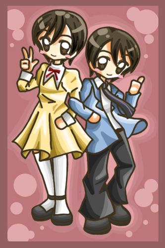 Haruhi Fujioka girl/boy