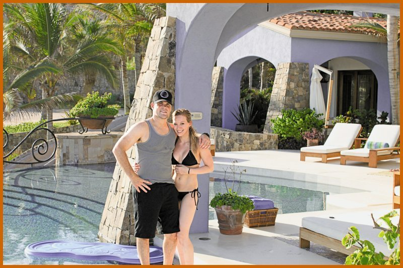Hilary Duff & Mike Comrie Honeymoon foto