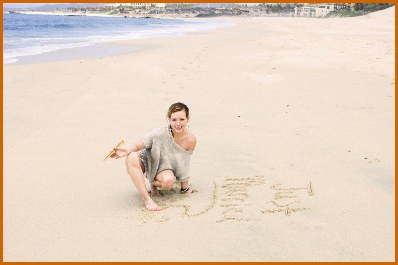Hilary Duff & Mike Comrie Honeymoon 사진