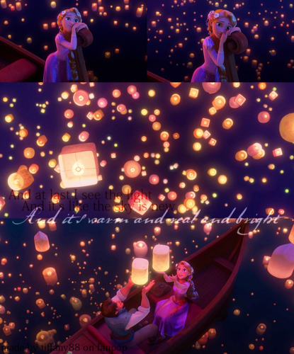 Tangled Wallpaper Entitled I See The Light