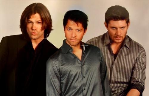 Jared, Misha, Jensen