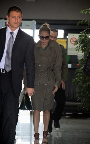 Jennifer - Arriving to Majorca Spain - June 18, 2011