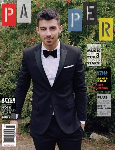 Joe Jonas Covers 'Paper' Mag's Summer Музыка