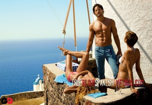 Joe Manganiello photoshoot