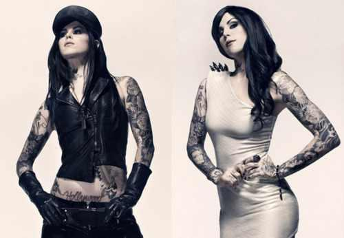 Kat Von D wallpaper possibly containing a well dressed person and a hip boot entitled KAT