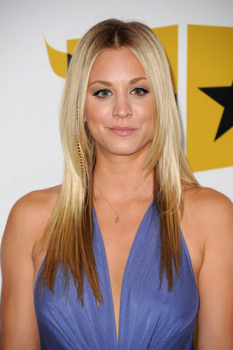 Kaley Cuoco wallpaper containing a portrait entitled Kaley