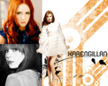Karen gillan - doctor-who wallpaper