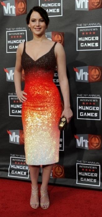 Katniss` Interview dress