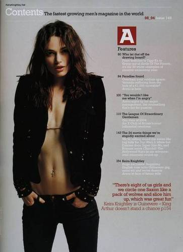 Keira Knightley with McCartney bikini parte superior, arriba