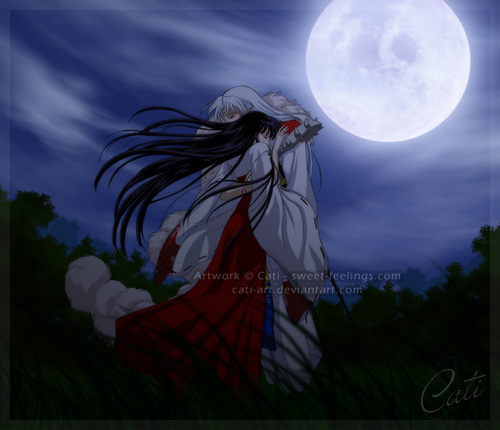 inuyasha images kikyo and sesshomaru wallpaper and