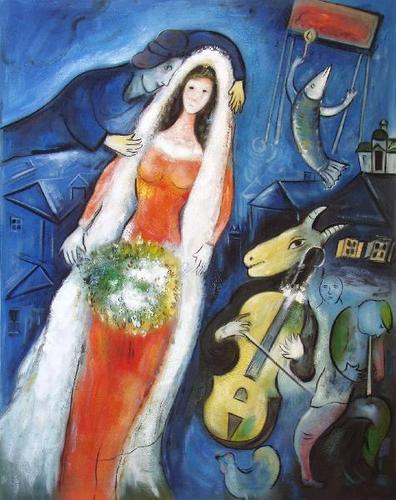 La Mariée によって Marc Chagallin the Movie Notting 丘, ヒル