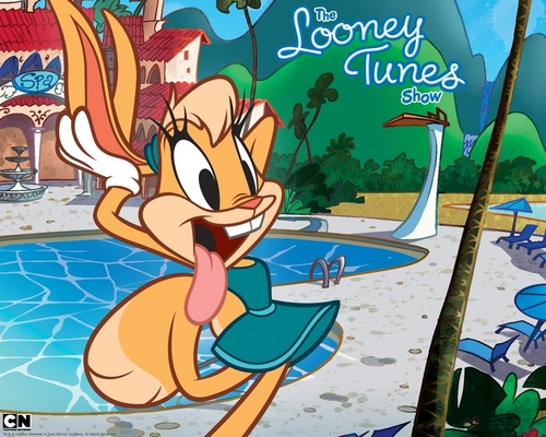 The Looney Tunes Show wallpaper possibly containing anime entitled Lola