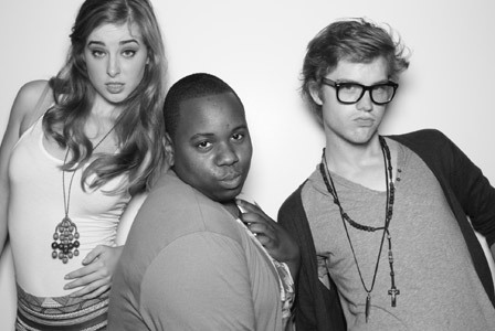 Marissa, Alex, and Cameron are looking fierce!