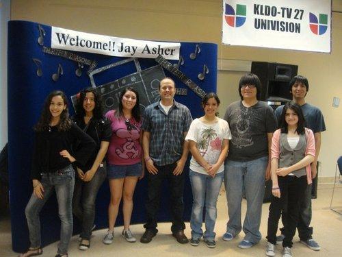 Meeting jay Asher~Laredo,TX