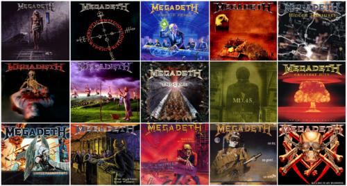 Megadeth's Albums