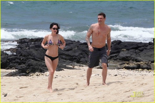 Megan rubah, fox & Brian Austin Green: Kona Couple