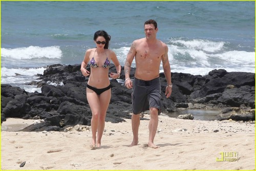 Megan cáo, fox & Brian Austin Green: Kona Couple